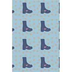 Deer Boots Teal Blue 5 5  X 8 5  Notebooks by snowwhitegirl