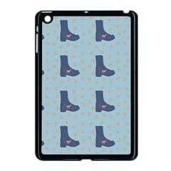 Deer Boots Teal Blue Apple Ipad Mini Case (black) by snowwhitegirl