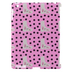 Deer Boots Pink Grey Apple Ipad 3/4 Hardshell Case (compatible With Smart Cover) by snowwhitegirl