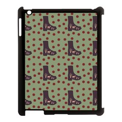 Deer Boots Green Apple Ipad 3/4 Case (black) by snowwhitegirl
