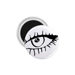 Drawn Eye Transparent Monster Big 1 75  Magnets by Alisyart