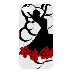 Flamenco Dancer Apple Iphone 4/4s Premium Hardshell Case by AnjaniArt