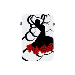 Flamenco Dancer Apple Ipad Mini Protective Soft Cases by AnjaniArt