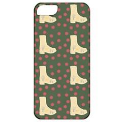 Green Boot Apple Iphone 5 Classic Hardshell Case