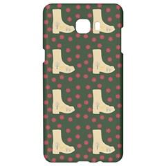 Green Boot Samsung C9 Pro Hardshell Case  by snowwhitegirl