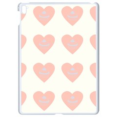 Cupcake White Pink Apple Ipad Pro 9 7   White Seamless Case by snowwhitegirl