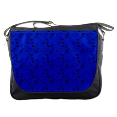 Royal Blue Music Messenger Bags
