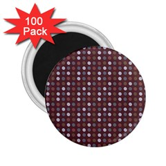 Grey Pink Lilac Brown Eggs On Brown 2 25  Magnets (100 Pack)