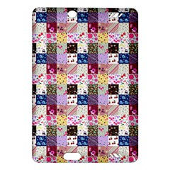 Quilt Of My Patterns Small Amazon Kindle Fire Hd (2013) Hardshell Case by snowwhitegirl