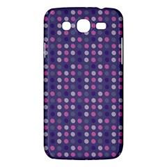 Violet Grey Purple Eggs On Grey Blue Samsung Galaxy Mega 5 8 I9152 Hardshell Case  by snowwhitegirl