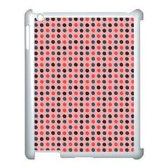 Grey Red Eggs On Pink Apple Ipad 3/4 Case (white) by snowwhitegirl