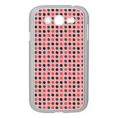 Grey Red Eggs On Pink Samsung Galaxy Grand Duos I9082 Case (white) by snowwhitegirl