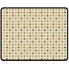 Green Brown Eggs Fleece Blanket (medium)  by snowwhitegirl