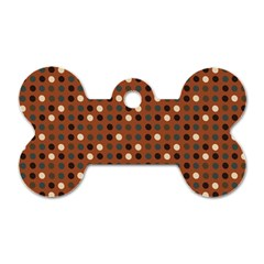 Grey Eggs On Russet Brown Dog Tag Bone (one Side) by snowwhitegirl