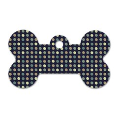 Beige Blue Cream Eggs On Grey Blue Dog Tag Bone (one Side) by snowwhitegirl