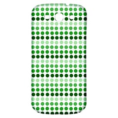 Greenish Dots Samsung Galaxy S3 S Iii Classic Hardshell Back Case