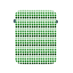 Greenish Dots Apple Ipad 2/3/4 Protective Soft Cases by snowwhitegirl