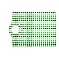 Greenish Dots Kindle Fire Hd (2013) Flip 360 Case by snowwhitegirl