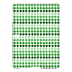 Greenish Dots Samsung Galaxy Tab S (10 5 ) Hardshell Case