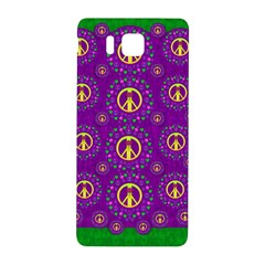 Peace Be With Us In Love And Understanding Samsung Galaxy Alpha Hardshell Back Case by pepitasart