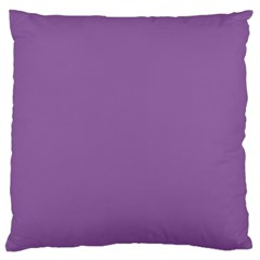 Another Purple Large Flano Cushion Case (one Side) by snowwhitegirl