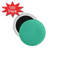 Seafoamy Green 1 75  Magnets (100 Pack)  by snowwhitegirl