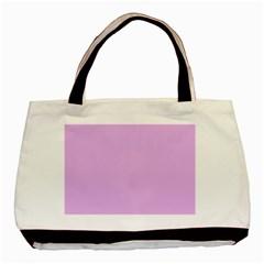 Baby Purple Basic Tote Bag by snowwhitegirl