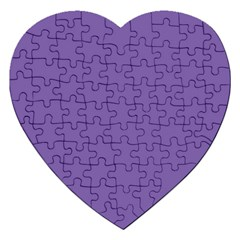 Purple Star Jigsaw Puzzle (heart) by snowwhitegirl