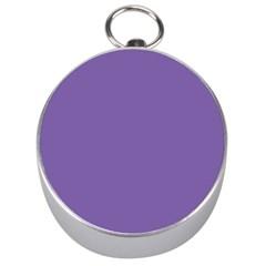Purple Star Silver Compasses by snowwhitegirl