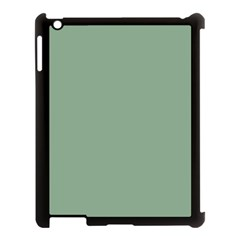 Mossy Green Apple Ipad 3/4 Case (black) by snowwhitegirl