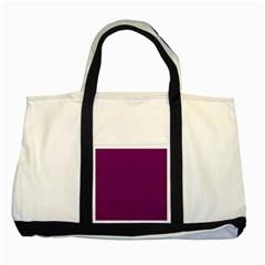 Magenta Ish Purple Two Tone Tote Bag by snowwhitegirl