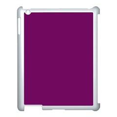 Magenta Ish Purple Apple Ipad 3/4 Case (white) by snowwhitegirl
