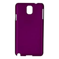 Magenta Ish Purple Samsung Galaxy Note 3 N9005 Hardshell Case by snowwhitegirl