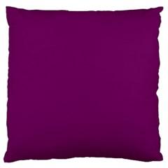 Magenta Ish Purple Standard Flano Cushion Case (two Sides) by snowwhitegirl