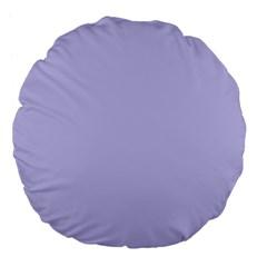 Violet Sweater Large 18  Premium Flano Round Cushions by snowwhitegirl
