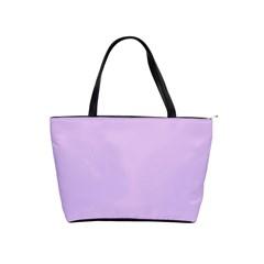 Lilac Morning Shoulder Handbags by snowwhitegirl