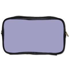 Grey Violet Toiletries Bags 2 Side by snowwhitegirl