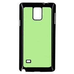 Meadow Green Samsung Galaxy Note 4 Case (black) by snowwhitegirl