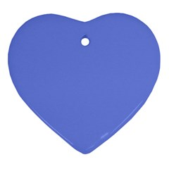 Lake Blue Ornament (heart) by snowwhitegirl