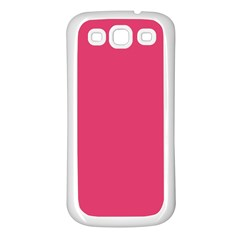 Rosey Day Samsung Galaxy S3 Back Case (white) by snowwhitegirl