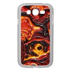 Lava Active Volcano Nature Samsung Galaxy Grand Duos I9082 Case (white) by Alisyart