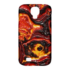 Lava Active Volcano Nature Samsung Galaxy S4 Classic Hardshell Case (pc+silicone) by Alisyart
