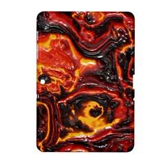 Lava Active Volcano Nature Samsung Galaxy Tab 2 (10 1 ) P5100 Hardshell Case  by Alisyart