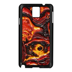 Lava Active Volcano Nature Samsung Galaxy Note 3 N9005 Case (black) by Alisyart