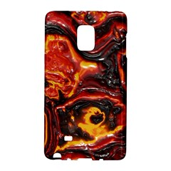 Lava Active Volcano Nature Galaxy Note Edge by Alisyart