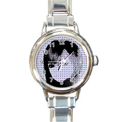 Heartwill Round Italian Charm Watch by snowwhitegirl