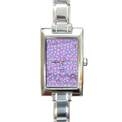 Little Face Rectangle Italian Charm Watch by snowwhitegirl