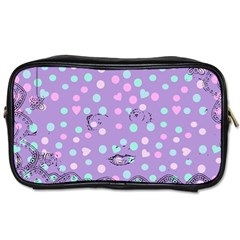 Little Face Toiletries Bags 2 Side by snowwhitegirl