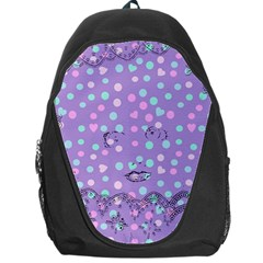 Little Face Backpack Bag by snowwhitegirl