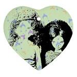 Mint Wall Ornament (Heart)